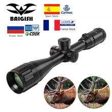 Baigish 4 16x44 St Tactische Optic Sight Groen Rood Riflescope Hunting Rifle Scope Sniper Airsoft Air Guns
