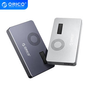 ORICO SSD Case Disk Hard-Drive-Box NVME Usb-C 10gbps M2 with Digital-Screen for M.2m