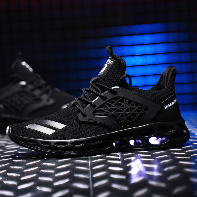 Air Mesh Running Shoes For Men Sneakers Breathable Sports Shoes Outdoor Athletic Training Jogging Fitness Shoes Big Size39-46