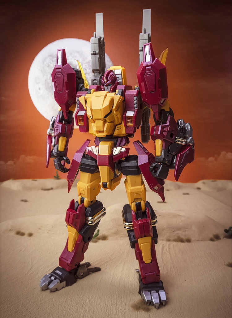 Transformables Hot Rod, Rodimus DX9 K2, AncestRod Series, Tiger Mode, figura de acción de aleación, Robot de juguete