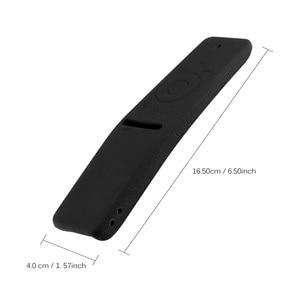 Image 2 - Imperméable à leau Silicone TV Oice Version télécommande couverture de protection étui pour samsung TV ensemble anti poussière outils contrôleur couverture