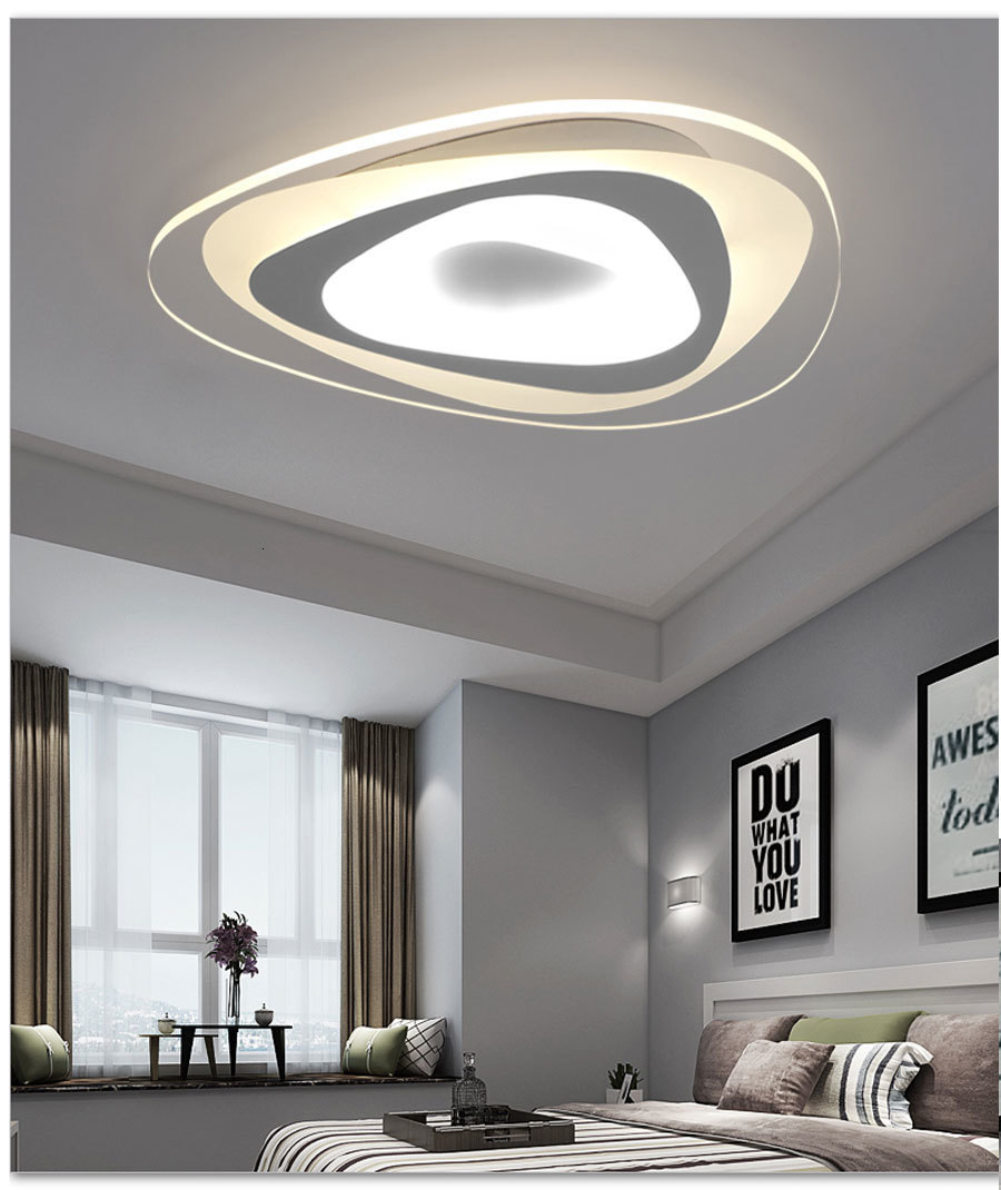 Hf6df0947bb7f4c14affcd517277cbc2dl Ultrathin Triangle Ceiling Lights lamps for living room bedroom lustres de sala home Dec LED Chandelier ceiling