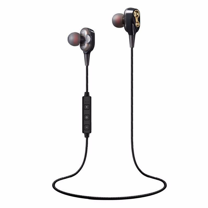 ABGN Hot-Bluetooth Headphones,Wireless Sports Earphones Mic Bluetooth 4.2 Lightweight Stereo in Ear Earbuds IPX5 Sweatproof HIFI