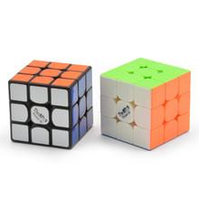 Valk3 moc M 55 5mm rozmiar kostki 3 #215 3 prędkość kostki magnetycznej Mofangge qiyi kostki konkurencji puzle magiczna kostka przez magnesy tanie tanio Z tworzywa sztucznego Mini MAGNETIC Don t for children under three years old cubo magico Valk3 Power M 55 5mm Cube 12-15 lat
