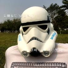 Star Wars White Soldier Mask Male Animation Starwars Helmet Latex Mask Horror Unisex Toy