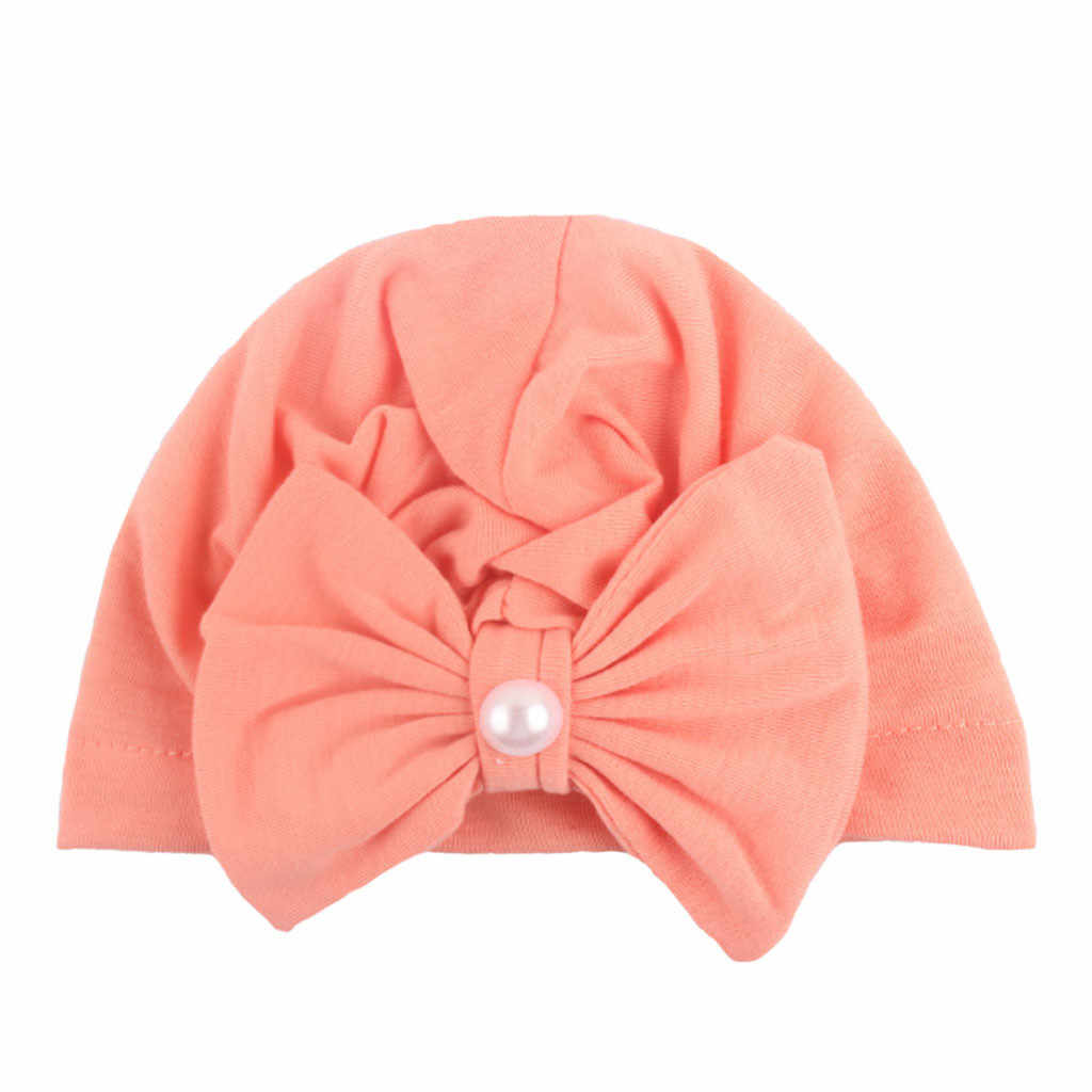 Sombrero de bebé bowknot bebé niña niño gorro niños niñas Sombrero niños Sombrero enfant Sombrero de punto # Y1