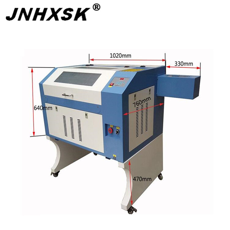 50W/60W/80W/100W In Stock 6040 Wood Glass Laser Engraver Cutter Machine Diy Co2 M2 CorelDRAW 400*600mm