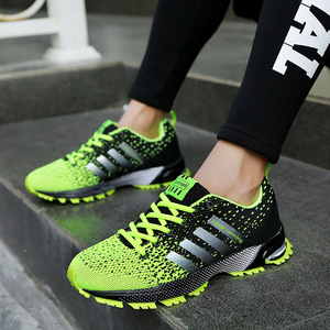 Image 4 - الرجال أحذية مفلكنة الرجال الصيف عادية للجنسين خفيفة الوزن تنفس شبكة موضة الذكور المشي حذاء رياضة Size35 47 كبير
