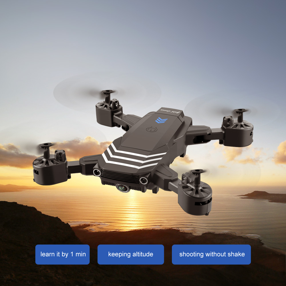 RC Drone 4K With Camera HD Wifi Fpv LS11 Fixed Height Professional Quadcopter 1800mah Long Time Foldable Selfie Drones Gift Toys