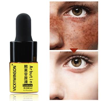 Arbutin essence 5ml Anti-Aging Essence Anti Wrinkle Cream Collagen Face Lift Serum Skin Care Product tanie i dobre opinie vickywinson Wybielanie Unisex Balsam Twarzy surowicy YY29