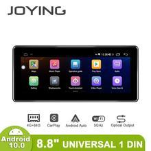 Neue Interface Universal 1din Multimedia Android 10 Auto Radio Stereo Auto 4GB 64GB Kopf Einheit Carplay Backup Kamera lenkrad