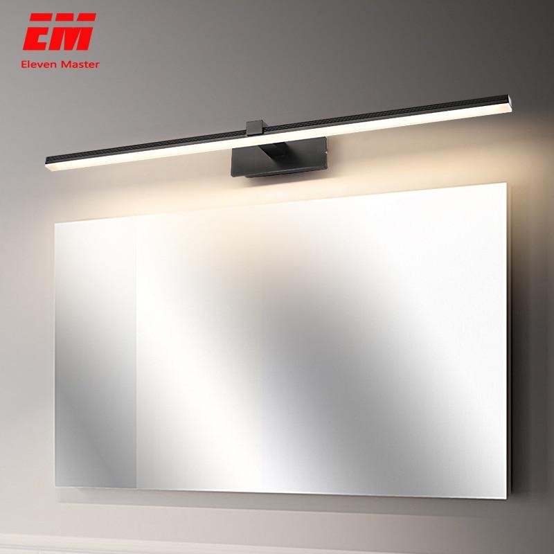 Modern Led Mirror Light 9W 12W AC90-260V Wall Mounted Industrial Wall Lamp Bathroom Light Waterproof Aluminum ZJQ0001