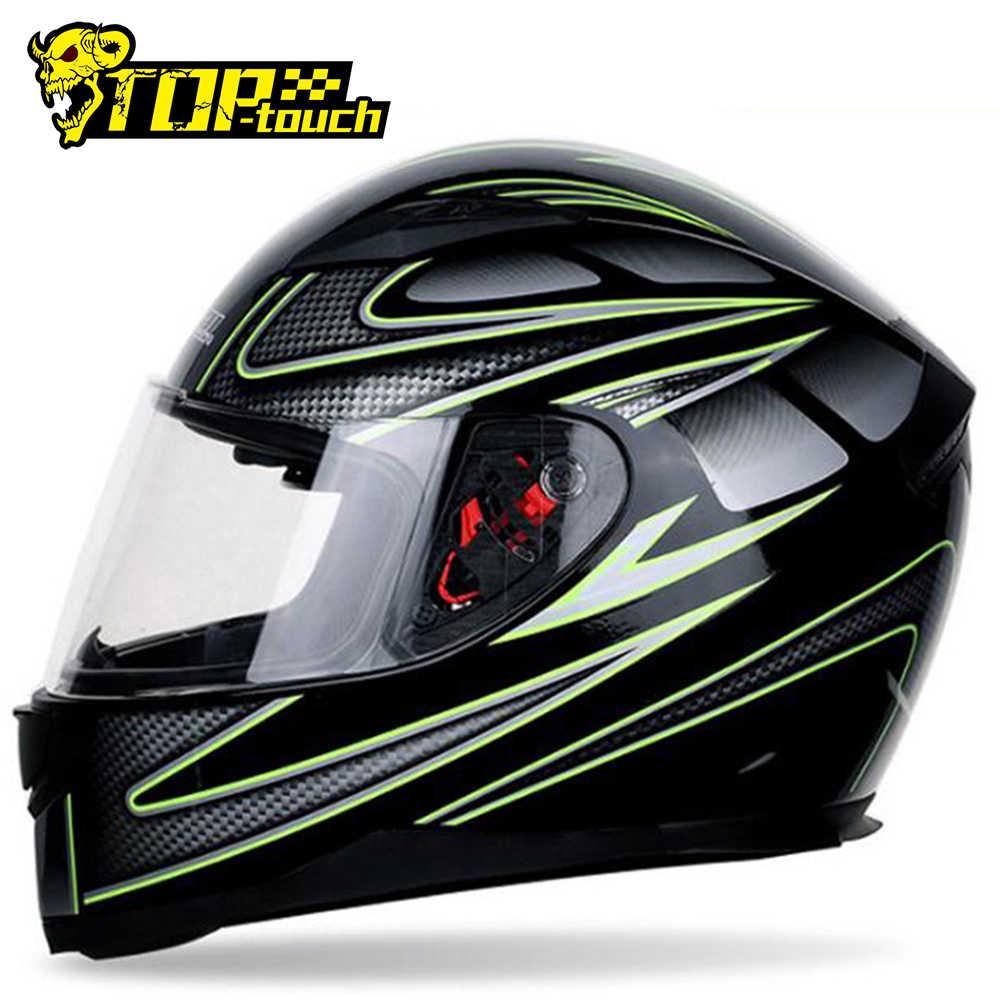 DOT for Adult Men//Women OD-B Motorcycle Helmets Motorbike Full face Flip Up Front Double Visor Scooter Crash Helmet