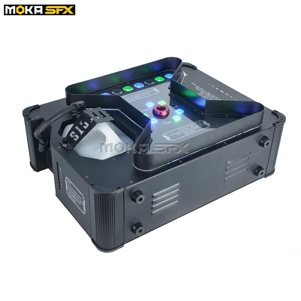 Instant Stop Super Jet Fog Machine DMX Remote Control Stage Effects Pryo Vertical Smoke Machine For Wedding Party Stage Show