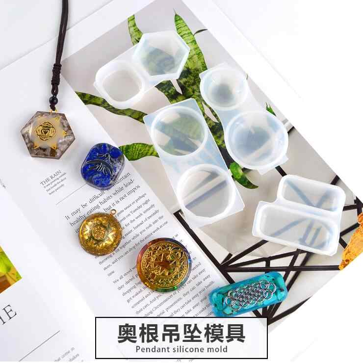 Craft Tool Silicone Resin Epoxy Mould Peacock Jewelry Mold Dried Flower Casting