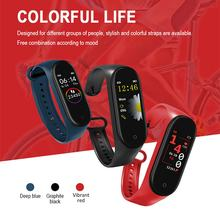 M4/M3 Smart Band Wristband Blood Pressure/Heart Rate Monitor/Pedometer Sports Bracelet Health Fitness Bracelet Smartwatch(China)