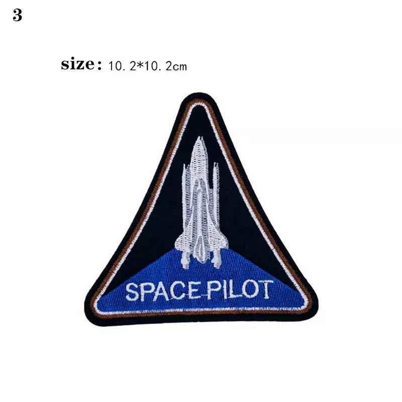 Astronauten Air Force Duikers Cartoon Borduren Sticker Patch Decoratieve Plakken Alle soorten Schoenen en Kleding Decoratie