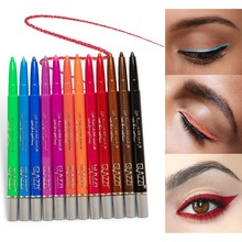 12 Colors Eyeliner Set Colorful Neon Green White Matte Eyeli