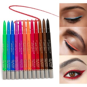 12 Colors Eyeliner Set Colorful Neon Gre