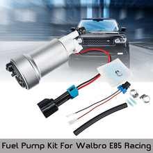 Alta Performance Bomba De Combustível & Instalar Kit F90000274 F9000267 F9000262 450LPH GSS341 GSS342 Para Walbro E85 Corrida