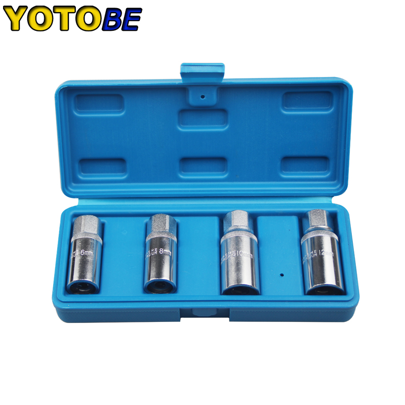 Stud Extractor Roller Remover Bolt Removal Socket 4pcs Metric