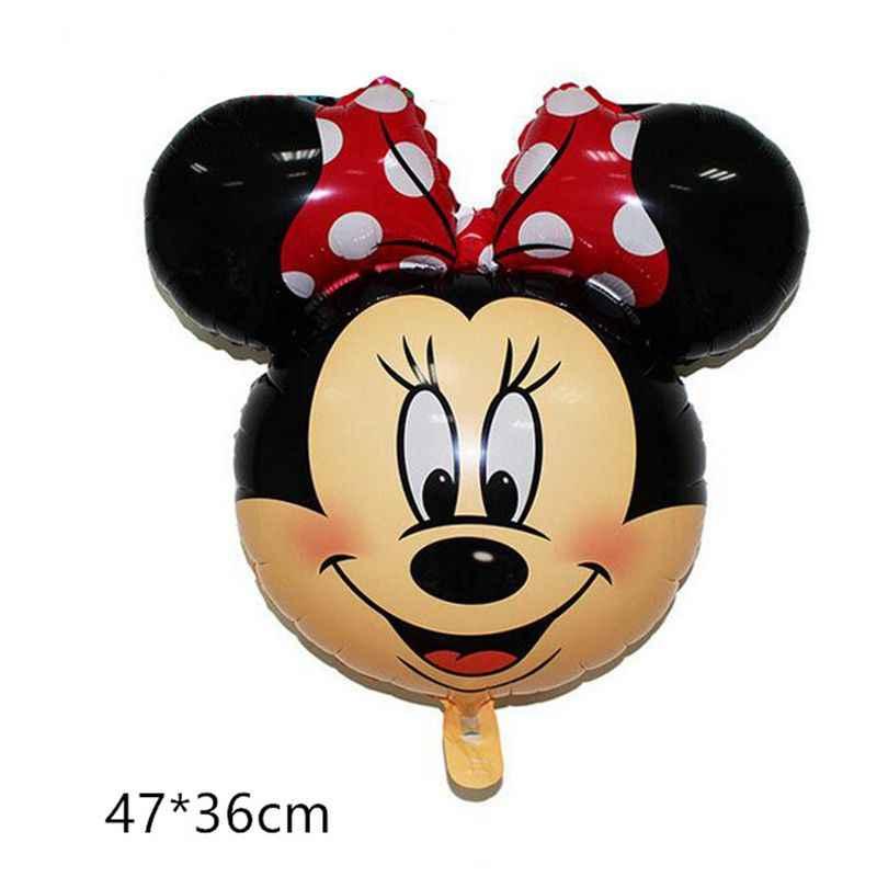 1 шт. Большие размеры Микки Минни фольга Воздушные шары Мультяшные игрушки для дня рождения украшения детский душ вечерние воздушные шары игрушки мяч