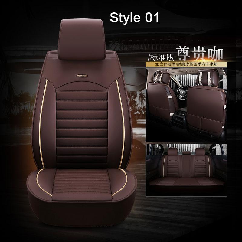 Vauxhall Vivaro LWB Heavy Duty Leather Look Van Seat Cover Protectors