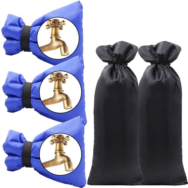 5 Pcs Outdoor Faucet Covers For Winter Garden Faucet Insulation Freeze Protection Cover