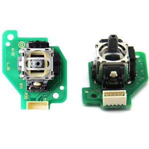 Image 1 - ימין שמאל אנלוגי ג ויסטיק אגודל מקל תיקון חלק חיישן מודול עם PCB לוח עבור Nintend Wii U Gamepad WiiU כרית בקר
