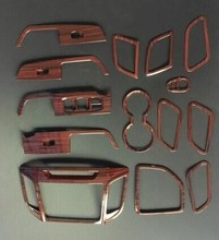 for Hyundai Creta/ix25 2018 Peach Accessories Interior Panel Cover Trim Car Interior Accessories Interior Moulding Trim interior
