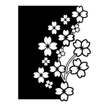 Eastshape Flower Edge Cutting Dies Christmas Stencils for DIY Scrapbooking Embossing Paper Cards Die Background