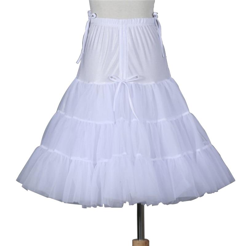 New Women's Princess Pleated Skirt With Adjustable Waist Circumference Crystal Gauze Skirt Wedding Banquet High Waist Petticoat