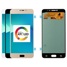 5.7 inch Super AMOLED LCD For Samsung Galaxy C7 C7000 SM-C7000 LCD Display and Touch Screen Digitizer Assembly Replacement Parts(China)