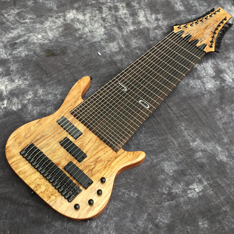 2020 Заводская 17 строка электрическая бас-гитара, гриф из красного дерева, Fretless декор, изготовленный на заказ предложение 1