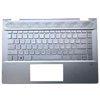 95% NEW Original Laptop Palmrest Upper Case US Keyboard For HP PAVILION X360 14 CD 14T CD 14M CD TPN W131