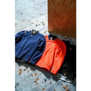 Image 2 - SIMWOOD 100% coton patchwork sweat shirt imprimé lettre hommes casual pull sweat mode survêtement grande taille à capuche 190465