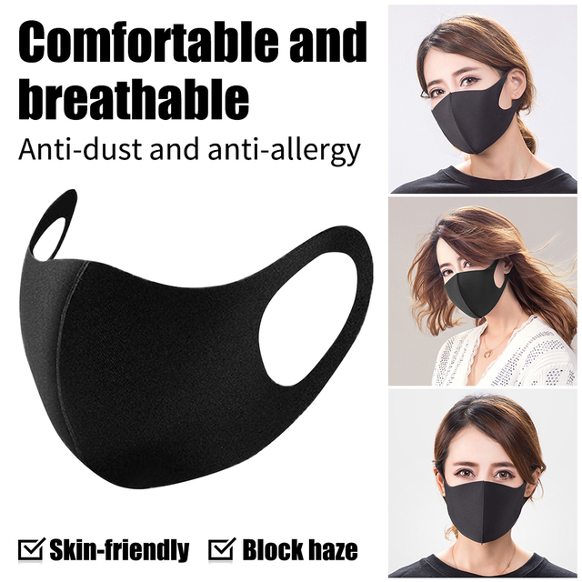 Kids/Adult Protection Masks Anti Bacteria Infection Anti PM2.5 Particulate Dustproof  proof Flu Face masks Care Windproof