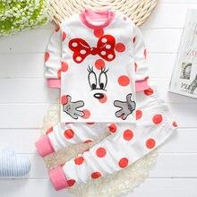 Хлопковая одежда для малышей; Термобелье; Костюм; Детская сна;