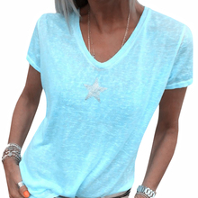 Spring And Summer New European And American Women's V-neck F