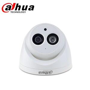 Image 2 - Dahua IPกล้องIPC HDW4433C A 4MP HD POE IR 30M Night Vision Starlight Camara MINI Dome Built in micกล้องเครือข่าย
