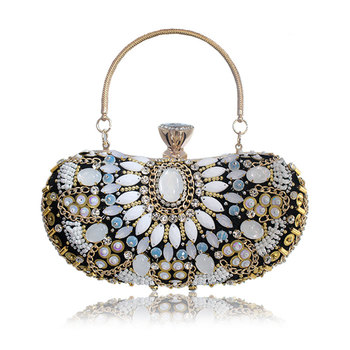 women evening bags beaded wedding handbags clutch purse evening bag for wedding day clutches evening bags embroidery bags lace wedding women handbags diamonds metal day clutches purse evening bags messenger chain shoulder handbags