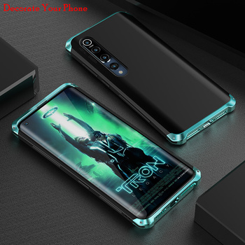 цена на Shockproof Element Metal Case For Xiaomi Mi 10/ Pro Cases Mi10 Pro Hard Aluminium & Hybrid Pc Case Xiaomi Mi 10 Pro Back Cover