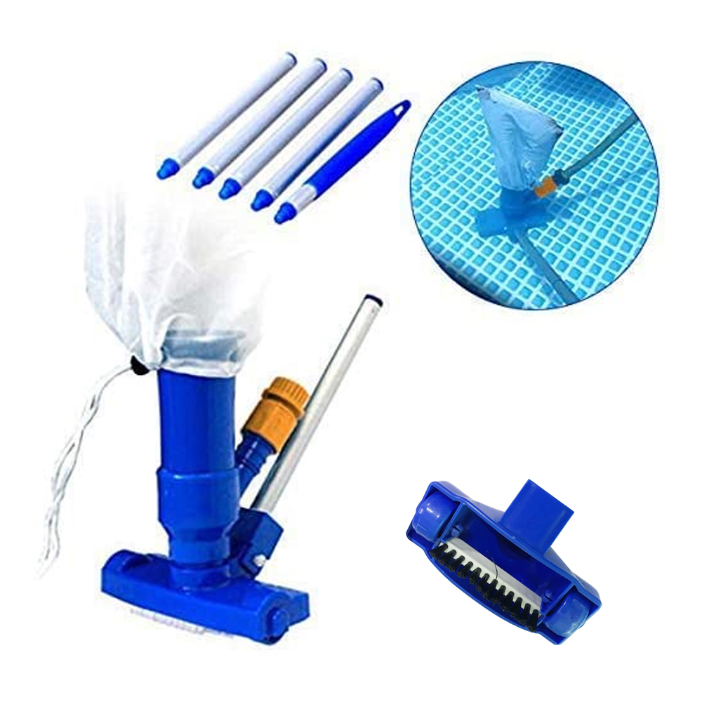 Hf6e52624c7624d679fea2317cb9c31eel - 1 Set Jet Swimming Pool Vacuum Cleaner Floating Objects Cleaning Tools Vac Suction Head Pool Fountain Vacuum Brush Cleaner