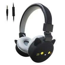 Auriculares estéreo con cable y micrófono para videojuegos, para niños, iPhone 11, Xiaomi 9, Huawei Mate 30, regalo de cumpleaños