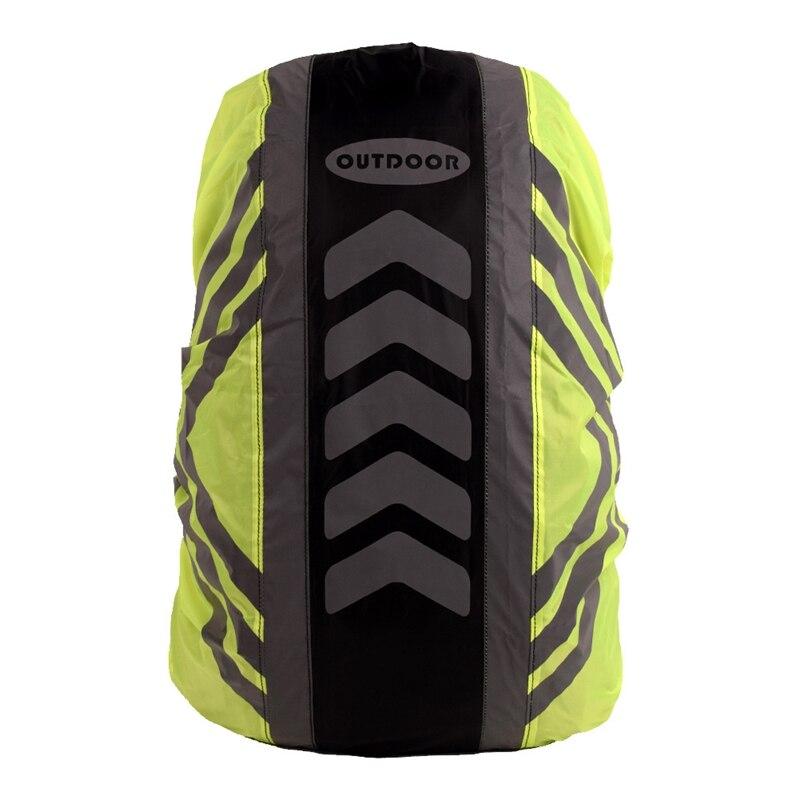 Reflective Waterproof Backpack Rain Cover Dustproof Bag Rain Cover For Hiking Camping Hunting Rain Cycling 20-28L
