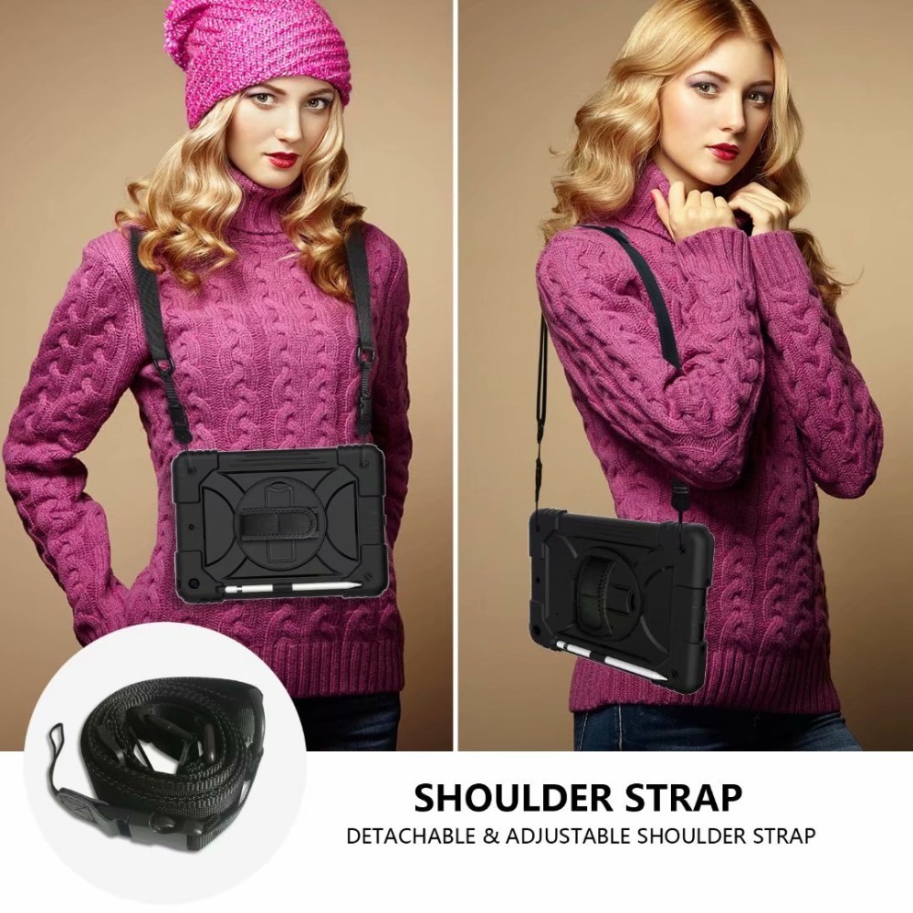 Generation 360 7th Hand Rotating Pencil Stand Cover iPad Case Strap For iPad For Holder