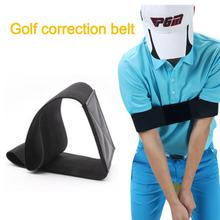 7*35CM Golf correction belt Golf Swing Trainer  Elastic Arm Band Belt Guide Gesture Alignment Training Aid Aids two color TXTB1