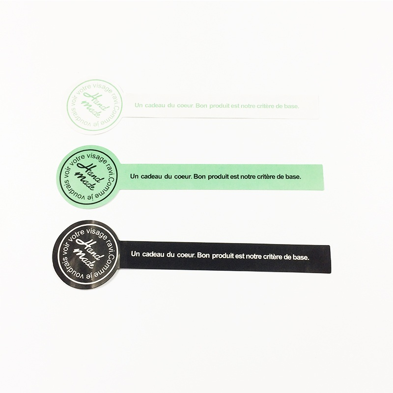 120pcs/pack Black Green White Handmade Lollipop Sealing Sticker Wedding Stickers Adhesive Labels