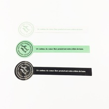 120pcs/pack Black Green White Handmade Lollipop Sealing Sticker Wedding Stickers Adhesive Labels