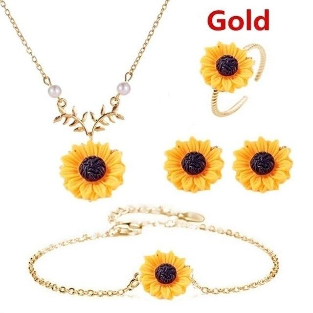 5PCS/Set Necklace Earring...